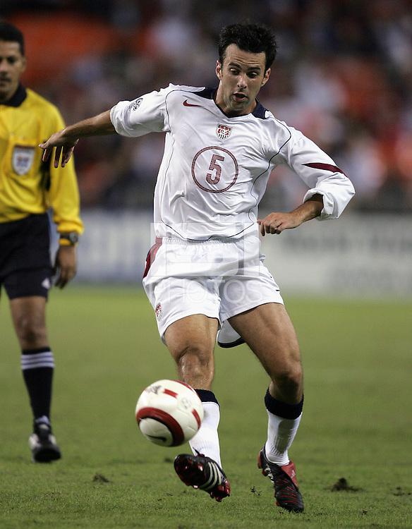 Kerry Zavagnin, Panama vs USA, World Cup qualifier at RFK Stadium, 2004.