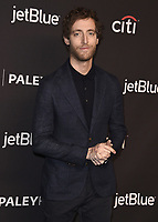 "HOLLYWOOD, CA - MARCH 18:  Thomas Middleditch at PaleyFest 2018 - ""Silicon Valley"" at the Dolby Theatre on March 18, 2018 in Hollywood, California. (Photo by Scott KirklandPictureGroup)"
