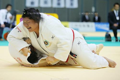 Sara Asahina, NOVEMBER 8, 2014 - Judo : Kodokan Cup 2014 Women's +78kg at Chiba Port Arena, Chiba, Japan. (Photo by Yusuke Nakanishi/AFLO SPORT) [1090]