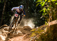 Picture by Alex Broadway/SWpix.com - 10/09/17 - Cycling - UCI 2017 Mountain Bike World Championships - Downhill - Cairns, Australia - Tahnee Seagrave of Great Britain competes in the Women's Elite Downhill Final.