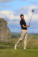 Stephen Healy (Carton House) on the 13th tee during Round 2 of The South of Ireland in Lahinch Golf Club on Sunday 27th July 2014.<br /> Picture:  Thos Caffrey / www.golffile.ie