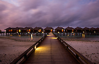 November 28th, 2008_MALDIVES_ Views of the resort island of the Sharaton Full Moon in the Maldives.  The Sheraton Full Moon is conveniently located just near the capital island of Male and the airport island of Hulhule.  Photographer: Daniel J. Groshong/Tayo Photo Group
