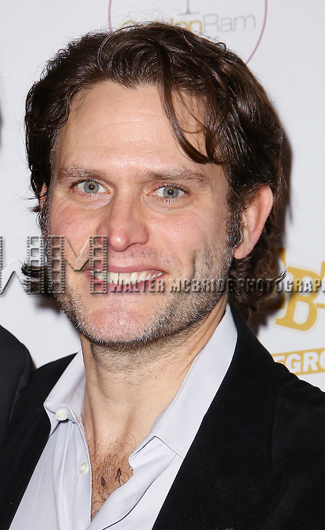 Steven Pasquale attends 'The Robber Bridegroom' Off-Broadway Opening Night performance press reception at Laura Pels Theatre on March 13, 2016 in New York City.