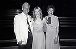 "Candice Earley with her parents Harold and Jean after performing in ""Gigi'"" with the Kenley Players on June 30, 1982 in Dayton Ohio."