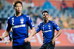 Gamba Osaka Defender Fabio Da Silva gestures during the AFC Champions League 2017 Group H match Between Jeju United FC (KOR) vs Gamba Osaka (JPN) at the Jeju World Cup Stadium on 09 May 2017 in Jeju, South Korea. Photo by Marcio Rodrigo Machado / Power Sport Images