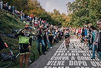 up the infamous/brutal Muro di Sormano (avg 17%/max 25%)<br /> <br /> 112th Il Lombardia 2018 (ITA)<br /> from Bergamo to Como: 241km