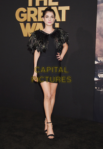 HOLLYWOOD, CA - FEBRUARY 15: Actress Niki Koss arrives at the premiere of Universal Pictures' 'The Great Wall' at TCL Chinese Theatre IMAX on February 15, 2017 in Hollywood, California.<br /> CAP/ROT/TM<br /> &copy;TM/ROT/Capital Pictures