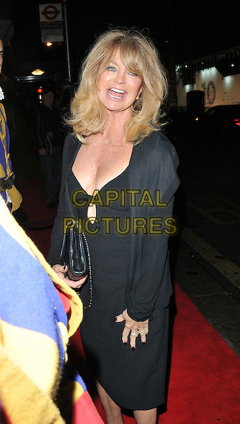 Goldie Hawn at the Annabel's new extension and refurbishment VIP dinner, Annabel's, Berkeley Square, London, England, UK, on Friday 30 September 2016.<br /> CAP/CAN<br /> &copy;CAN/Capital Pictures