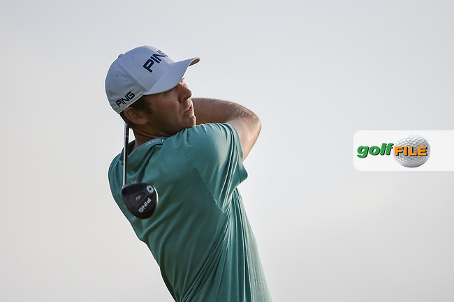 Seamus Power (IRL) watches his tee shot on 11 during day 1 of the Valero Texas Open, at the TPC San Antonio Oaks Course, San Antonio, Texas, USA. 4/4/2019.<br /> Picture: Golffile | Ken Murray<br /> <br /> <br /> All photo usage must carry mandatory copyright credit (© Golffile | Ken Murray)