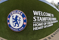 General view outside Stamford Bridge during the International Champions Cup match between Chelsea and Fiorentina at Stamford Bridge, London, England on 5 August 2015. Photo by Andy Rowland.