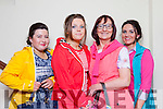 Martha Fox, Aisling Moriarty, Annette O'Donoghue, Amy Galwey  at the Castleisland C ommunity College fashion show in the River Island Hotel on Saturday night