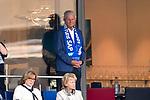 07.10.2018, wirsol Rhein-Neckar-Arena, Sinsheim, GER, 1 FBL, TSG 1899 Hoffenheim vs Eintracht Frankfurt, <br /><br />DFL REGULATIONS PROHIBIT ANY USE OF PHOTOGRAPHS AS IMAGE SEQUENCES AND/OR QUASI-VIDEO.<br /><br />im Bild: Dietmar Hopp (Investor TSG Hoffenheim)<br /><br />Foto &copy; nordphoto / Fabisch