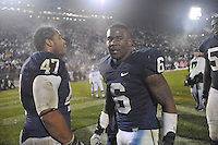 29 October 2011:  Penn State.The Penn State Nittany Lions defeated the Illinois Fighting Illini 10-7 to at Beaver Stadium in State College, PA..