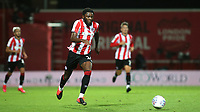 Josh DaSilva of Brentford in action during Brentford vs Swansea City, Sky Bet EFL Championship Play-Off Semi-Final 2nd Leg Football at Griffin Park on 29th July 2020