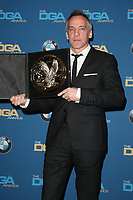 BEVERLY HILLS, CA - FEBRUARY 3: Jean-Marc Vallee in the press room at the 70th Annual DGA Awards at The Beverly Hilton Hotel in Beverly Hills, California on February 3, 2018. <br /> CAP/MPI/FS<br /> &copy;FS/MPI/Capital Pictures