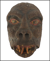 Ronnie Kray's horror masks sell for £7500.