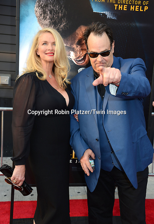 "Donna Dixon and husband Dan Aykroyd  attend the World Premiere of ""Get On Up"" at the Apollo Theater in Harlem in New York Citiy on July 21, 2014."