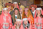 Some of the cast from Ali Baba, Killorglin Panto group's lastest production which will start a week long run in Killorglin this Sunday front l-r: Geraldine O'Sullivan, Sinead Geary. Middle row: Gearaldine Foyle, Ger O'Connor, Declan Mangan, Carla Coffey. Back row: John McGeever, Tricia Begley, Irene Kavanagh and Colm Clifford