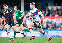 Picture by Allan McKenzie/SWpix.com - 08/04/2018 - Rugby League - Betfred Super League - Wakefield Trinity v Leeds Rhinos - The Mobile Rocket Stadium, Wakefield, England - Tom Johnstone.