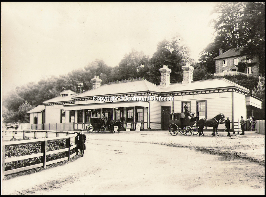 BNPS.co.uk (01202 558833)<br /> Pic: GudmundOlafsson/BNPS<br /> <br /> Petworth Station back in 1892.<br /> <br /> An ornate 19th century railway station built just so the then Prince of Wales could go on weekend jaunts to the races has gone on sale for £1.5 million. <br /> <br /> It is 50 years since the last train departed from Petworth Railway Station, which has since been converted into an 11-bed luxury bed and breakfast. <br /> <br /> And this is because almost nobody other than the future King Edward VII had any call to use it.