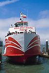 Tourist Ferry boat, near Pier 39, San Francisco, California