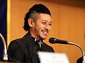 Junji Sakamoto and Joe Odagiri present their movie Ernesto