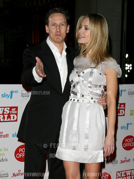 Brendan Cole and Zoe Hobbs arriving for the Children's Champion Awards 2010, at Grosvenor House Hotel, London. 03/03/2010  Picture by: Alexandra Glen / Featureflash