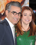 Eugene Levy and Alyson Hannigan at The Universal Pictures' L.A. Premiere of American Reunion held at The Grauman's Chinese Theatre in Hollywood, California on March 19,2012                                                                               © 2012 Hollywood Press Agency