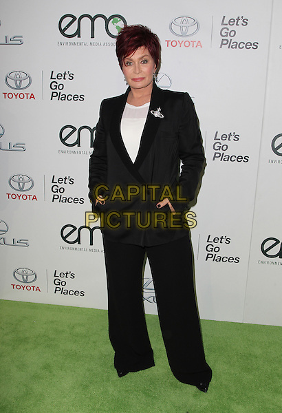 18 October 2014 - Burbank, California - Sharon Osbourne. 24th Annual Environmental Media Awards Presented By Toyota And Lexus Held at The Warner Brothers Studios.   <br /> CAP/ADM/FS<br /> &copy;Faye Sadou/AdMedia/Capital Pictures