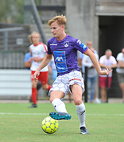 SV WEVELGEM CITY - FC MEULEBEKE :<br /> Wevelgem speler Thibaut Phyfferoen<br /> <br /> Foto VDB / Bart Vandenbroucke