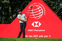 Kevin Kisner (USA) on the 11th tee during round 1 at the WGC HSBC Champions, Sheshan Golf Club, Shanghai, China. 31/10/2019.<br /> Picture Fran Caffrey / Golffile.ie<br /> <br /> All photo usage must carry mandatory copyright credit (© Golffile | Fran Caffrey)
