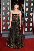 Kate Mara<br /> arriving for the BAFTA Film Awards 2018 at the Royal Albert Hall, London<br /> <br /> <br /> ©Ash Knotek  D3381  18/02/2018