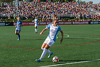 Allston, MA - Saturday August 19, 2017: Monica Hickmann Alves during a regular season National Women's Soccer League (NWSL) match between the Boston Breakers and the Orlando Pride at Jordan Field.