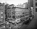 Pittsburgh PA:  View of Fifth Avenue and the Gypsy Tea Room from Brady Stewart Studio, 812 Market Street - 1935