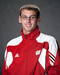 2010-11 UW Swimming and Diving Team - Alex Riegert. (Photo by David Stluka)