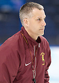 Drew Famulak (FSU - Associate Head Coach) - The Ferris State University Bulldogs practiced on Friday, April 6, 2012, during the 2012 Frozen Four at the Tampa Bay Times Forum in Tampa, Florida.