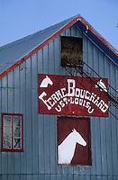 Amérique/Amérique du Nord/Canada/Quebec/Ile-aux-Coudres : La ferme Bouchard