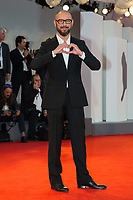 "Michael Roskam at the ""Racer And The Jailbird (Le Fidele)"" premiere, 74th Venice Film Festival in Italy on 8 September 2017.<br /> <br /> Photo: Kristina Afanasyeva/Featureflash/SilverHub<br /> 0208 004 5359<br /> sales@silverhubmedia.com"