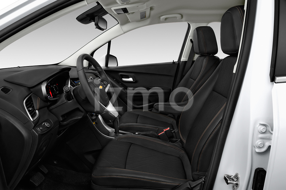 Front seat view of a 2019 Chevrolet Trax LT 5 Door SUV front seat car photos