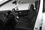 Front seat view of a 2020 Chevrolet Trax LT 5 Door SUV front seat car photos