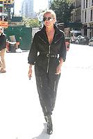 NEW YORK, NY - SEPTEMBER 8: Yolanda Hadid seen on September 8, 2017 in New York City. <br /> CAP/MPI/DC<br /> &copy;DC/MPI/Capital Pictures