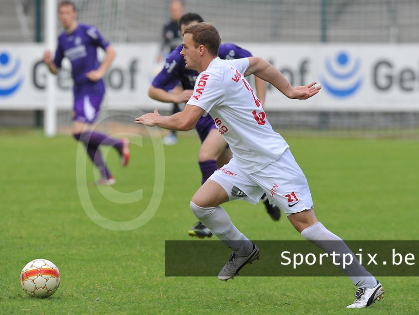 KV Kortrijk : Brecht Capon.foto VDB / BART VANDENBROUCKE