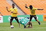 06.01.2019, FNB Stadion/Soccer City, Nasrec, Johannesburg, RSA, FSP , SV Werder Bremen (GER) vs Kaizer Chiefs (ZA)<br /> <br /> im Bild / picture shows <br /> #Kabelo Mahlasela (Kaizer Chiefs #17)<br /> Johannes Eggestein (Werder Bremen #24)<br /> #Arohasina Andrianarimanana (Kaizer Chiefs #06)<br /> <br /> Foto &copy; nordphoto / Kokenge
