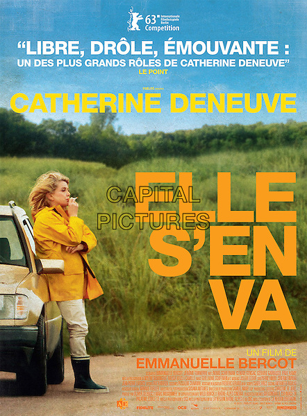 ORIGINAL FRENCH POSTER ART<br /> in On My Way (2013) <br /> (Elle s'en va)<br /> *Filmstill - Editorial Use Only*<br /> CAP/FB<br /> Image supplied by Capital Pictures