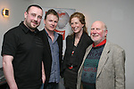 Steve Downes, guest poet, Mark Kearns, Cara Brock and Host, Roger Hudson at the Poetry Slam in McHughs...Photo NEWSFILE/Jenny Matthews.(Photo credit should read Jenny Matthews/NEWSFILE)....This Picture has been sent you under the condtions enclosed by:.Newsfile Ltd..The Studio,.Millmount Abbey,.Drogheda,.Co Meath..Ireland..Tel: +353(0)41-9871240.Fax: +353(0)41-9871260.GSM: +353(0)86-2500958.email: pictures@newsfile.ie.www.newsfile.ie.FTP: 193.120.102.198.
