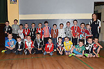 Kiddies Academy members pictured at Ardee Celtic underage awards night in Ardee Parish Centre. Photo:Colin Bell/pressphotos.ie