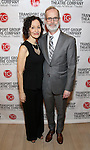 Barbara Walsh and Jack Cummings III attend the Transport Group Theatre Company 'A Toast to the Artist - An Evening with Mary-Mitchell Campbell & Friends'  at The The Times Center on February 6, 2017 in New York City.