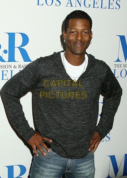 "COREY REYNOLDS .MT&R's 24th Annual William S. Paley Television Festival, ""The Closer"" at the Directors Guild, West Hollywood, California, USA..March 6th, 2007.half length grey gray sweater hands on hips .CAP/ADM/BP.©Byron Purvis/AdMedia/Capital Pictures"