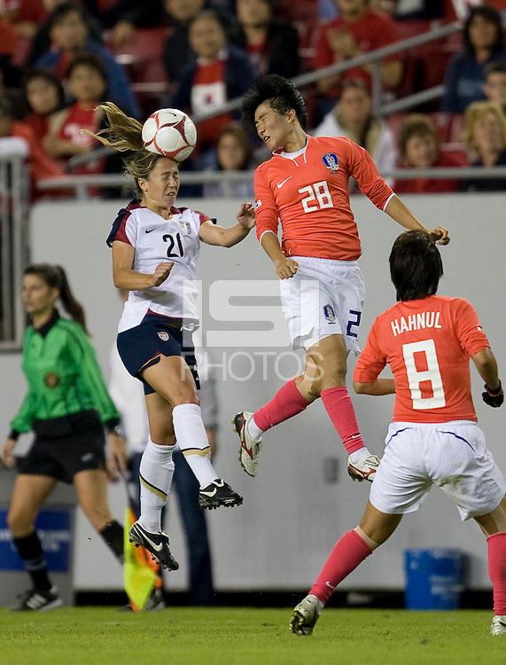 U.S. Women's National Team vs. South Korea - November 8, 2008 at Raymond James Stadium in Tampa, Fla.  ...