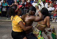 Over 1 million people attend the annual Notting Hill Carnival in west London.